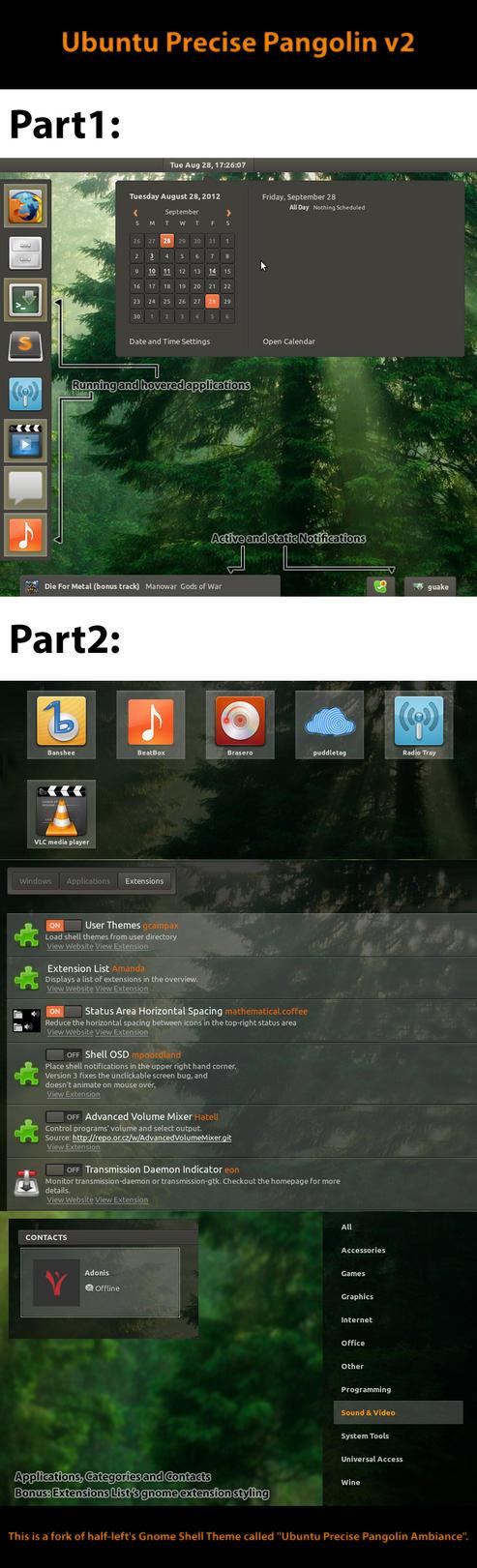 Ubuntu Precise Pangolin - Ambiance 2 by AKLP