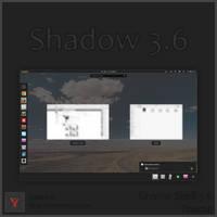 Shadow 3.6 - Gnome Shell Theme