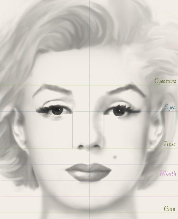 makeup drawing face - photo #23