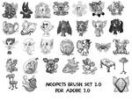 Neopets Faerie Brushes 3