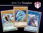 Yu-Gi-Oh! 20th Ser Templates PSD