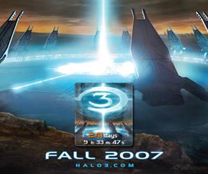 Halo 3 Countdown Gadget