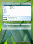 Windows Vista Glass PSD