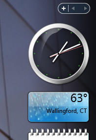 Longhorn Clock for Sidebar