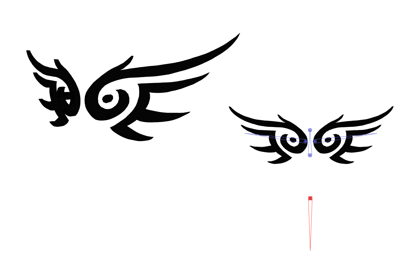 MMD Tribal Wings by pokemew12 on DeviantArt
