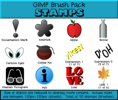 Stamps Brush Pack
