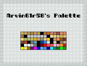 Arvin61r58's Palette
