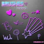 Brushes varied