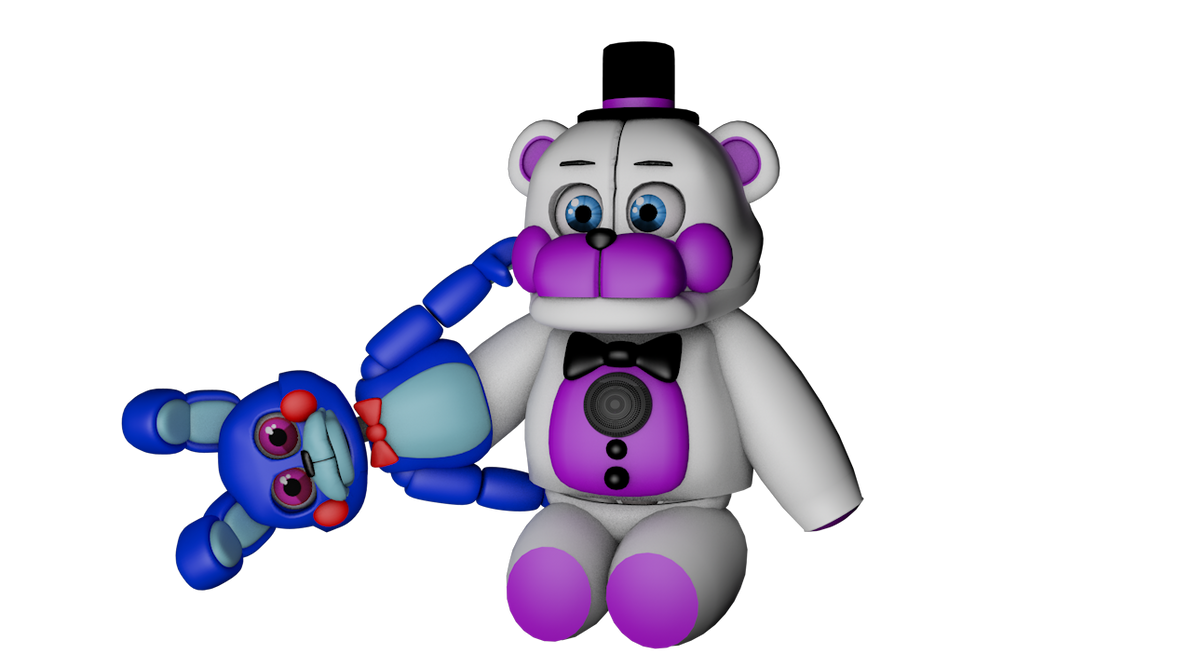 Mmd Funtime Freddy: Funtime Freddy Plushie Blender Download By Carlosparty19