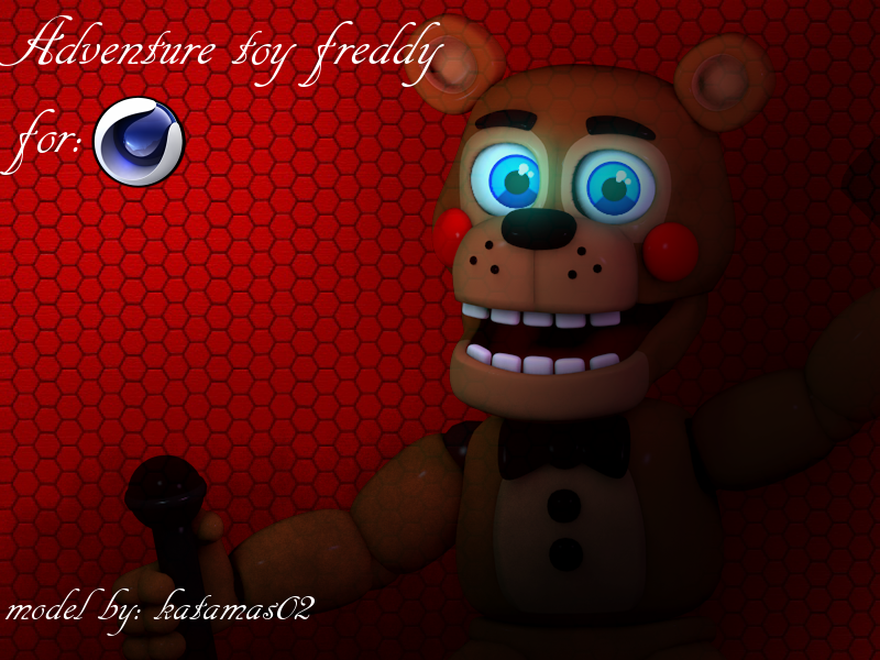 Fnaf world] Adv  Toy freddy v 2 C4D download by