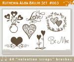 Brushset 03: Valentine Scraps
