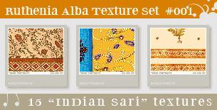 Texture Set 01: Indian Sari