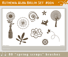 Brushset 04: Spring Scraps by Ruthenia-Alba