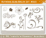 Brushset 05: Swirl'n'Flowers