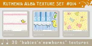 Texture Set 014: Babies by Ruthenia-Alba
