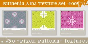 Texture Set 05: Pixel Pattern