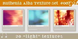 Texture Set 07: Light by Ruthenia-Alba