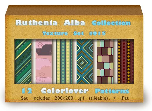 Texture Set 15: Color Patterns