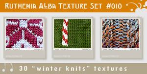 Texture Set 10: Winter Knits