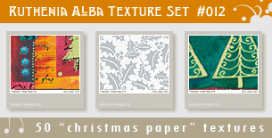 Texture Set 12: Xmas Paper 2