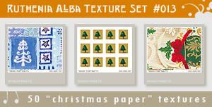 Texture Set 13: Xmas Paper 3
