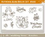 Brushset 08: Wedding Fever