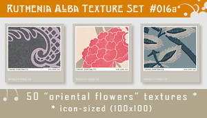 Txt Set 16a: Oriental Flowers