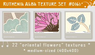 Txt Set 16b: Oriental Flowers by Ruthenia-Alba