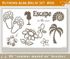 Brushset 10: Summer moved on by Ruthenia-Alba