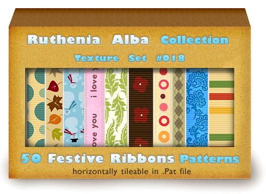 Txt Set 18: Festive Ribbons by Ruthenia-Alba