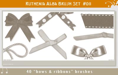 Brushset 11: Bows'n'Ribbons