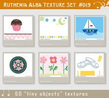 Txt Set 19: Tiny Objects by Ruthenia-Alba