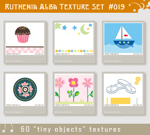 Txt Set 19: Tiny Objects by Ruthenia-Alba