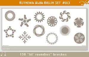 Brushset 13: Lil' Roundies