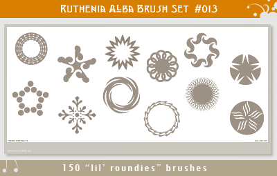 Brushset 13: Lil' Roundies by Ruthenia-Alba
