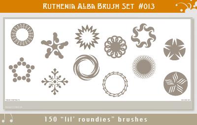 Brushset 13: Lil' Roundies by Ruthenia-Alba