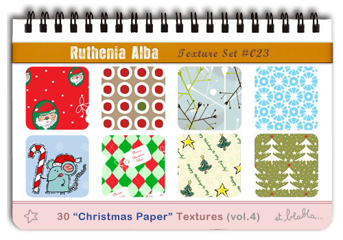 Txt Set 23: Xmas Paper 4