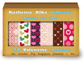 Txt Set 24: Valentine Patterns by Ruthenia-Alba