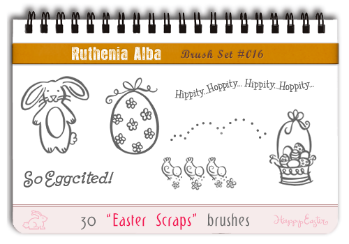 Brushset 16: Easter Scraps