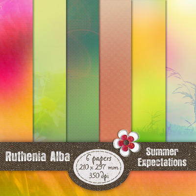 Scrap 01: Summer Expectations by Ruthenia-Alba