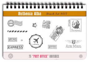 Brushset 17: Post Office by Ruthenia-Alba