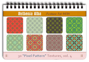 Txt Set 26: Pixel Pattern 4 by Ruthenia-Alba