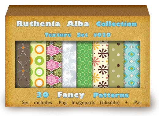 Txt Set 29: Fancy Patterns by Ruthenia-Alba