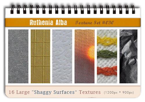 Txt Set 30: Shaggy Surfaces by Ruthenia-Alba