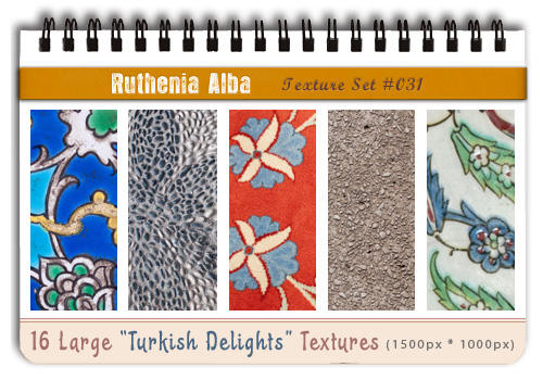 Txt Set 31: Turkish Delights by Ruthenia-Alba