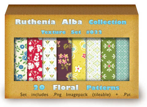 Txt Set 32: Floral Patterns