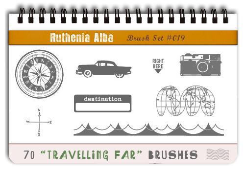Brushset 19: Travelling Far by Ruthenia-Alba