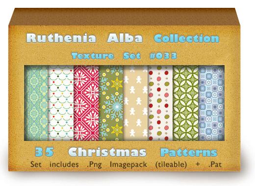 Txt Set 33: Christmas Patterns