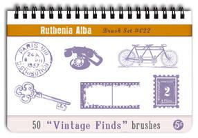 Brushset 22: Vintage Finds