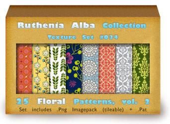 Txt Set 34: Floral Patterns, vol. 2